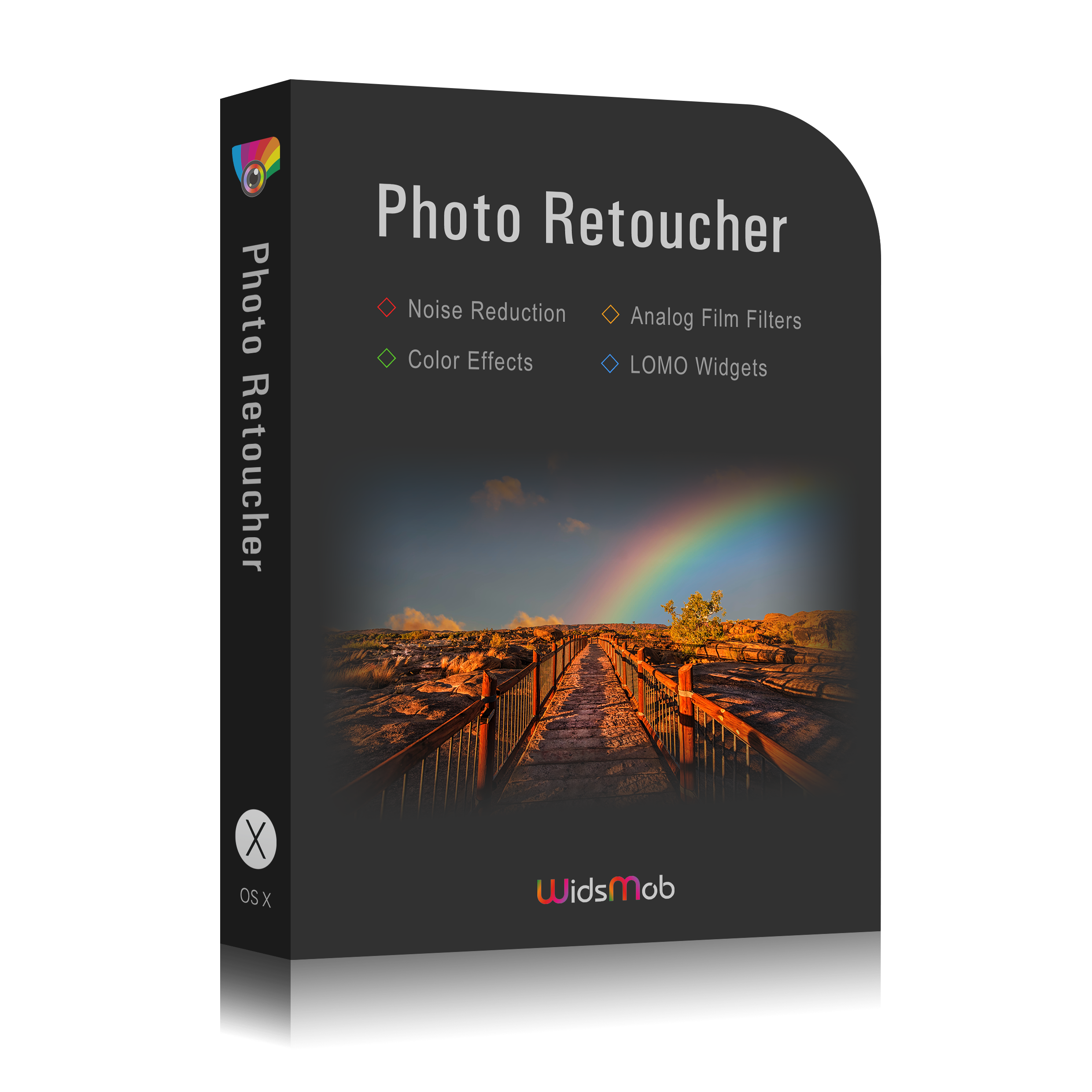 retoucher box mac νέο