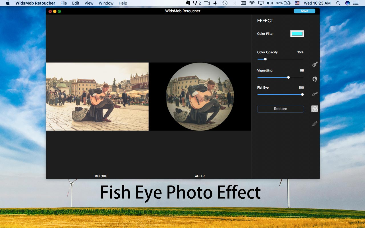 fish-eye-foto-effect