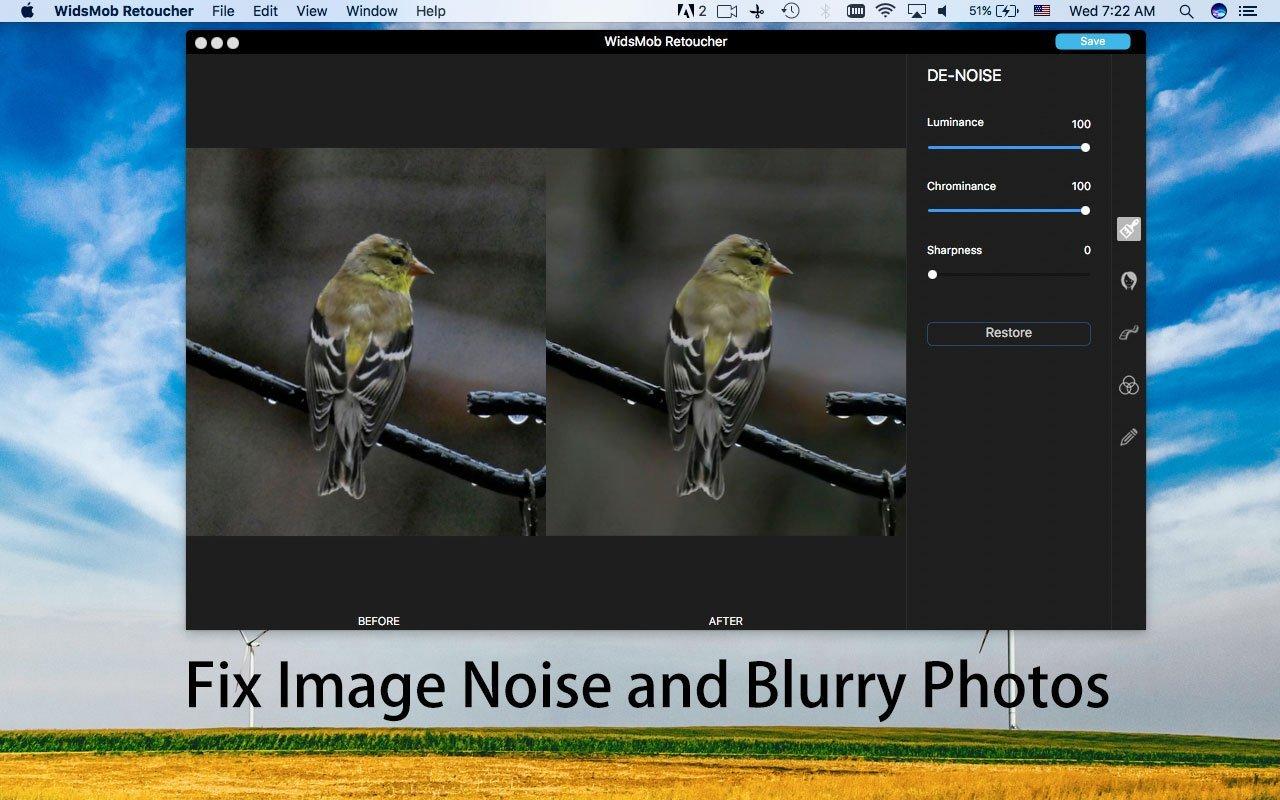 fix-image-støj