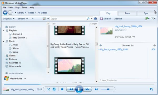 convert mp3 to wav with wmp