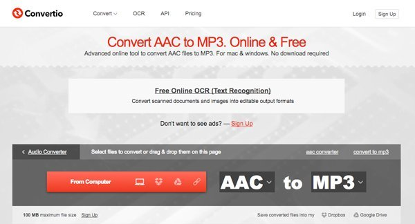 free aac to mp3