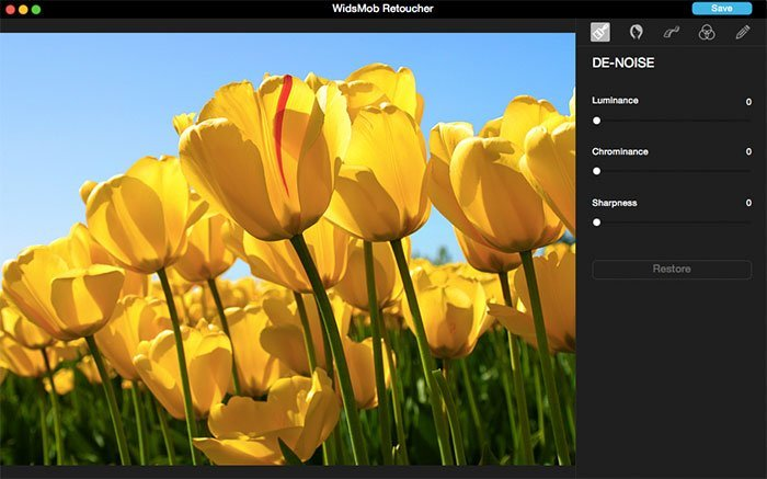 Add color photo to widsmob retoucher