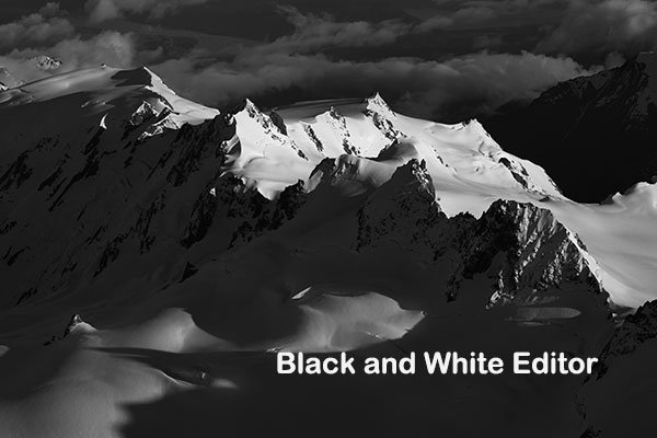 Black White Editor