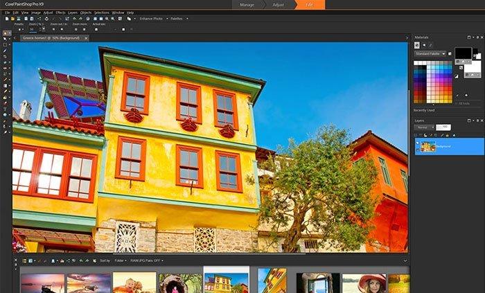 paintshop-pro-interface