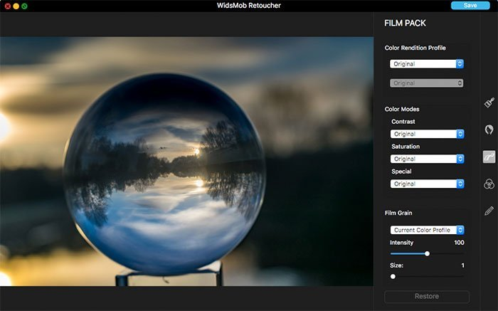 widsmob-retoucher-interface