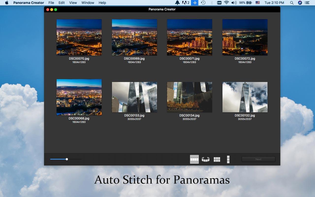 auto-stitch-to-panorama