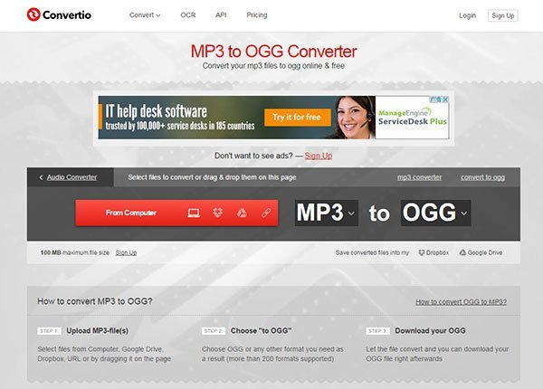 MP3 to OGG - 5 Free Ways to Convert MP3 to OGG [2018 Updated]