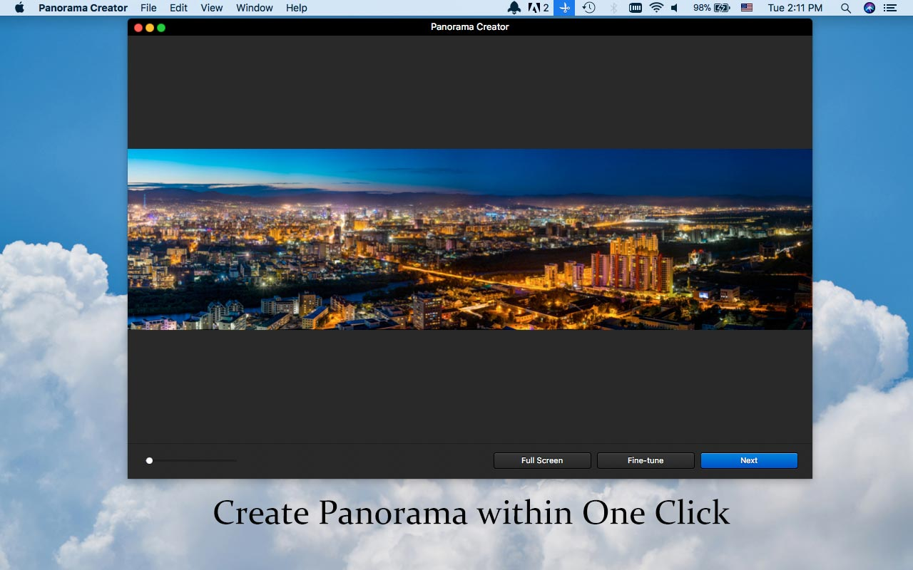 Panorama Maker in One Click