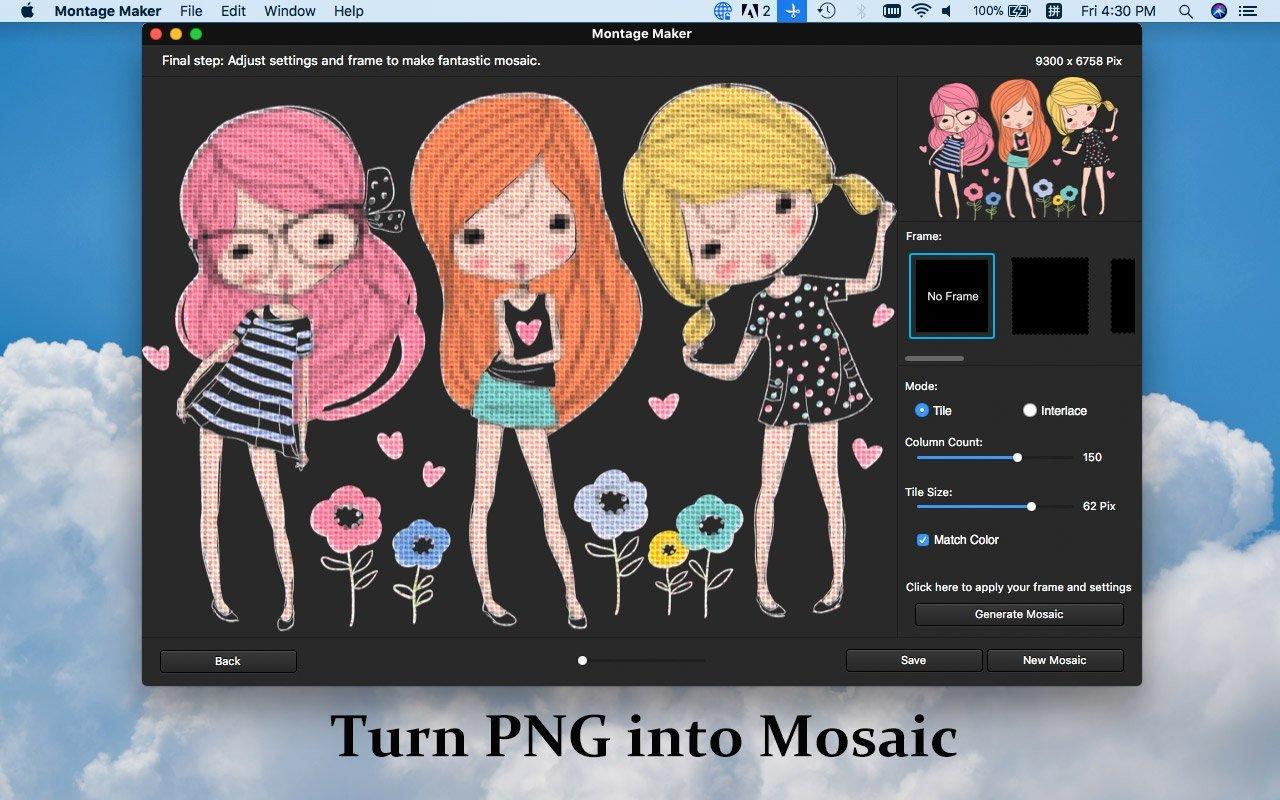 PNG Mosaic