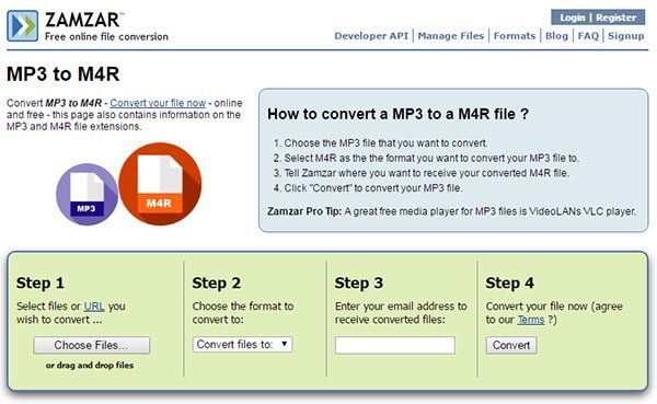 iphone ringtone converter mp3 to m4r online