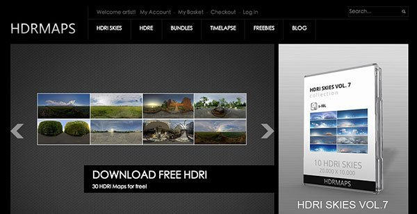 Free HDR – Top 10 Websites You can Download Free HDRI in