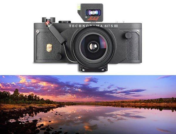 Panoramakamera - Linhof Technorama 617S