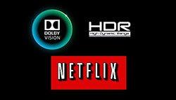 Netflix HDR-video