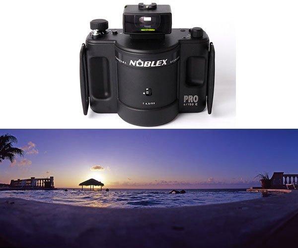 Panorama-kamera - Noblex Pro-kamera