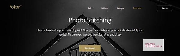 Panorama Maker Fotor online