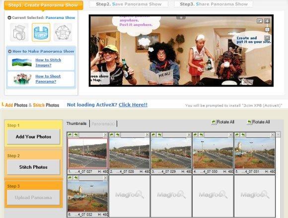 Top Online Panorama Maker - Magtoo