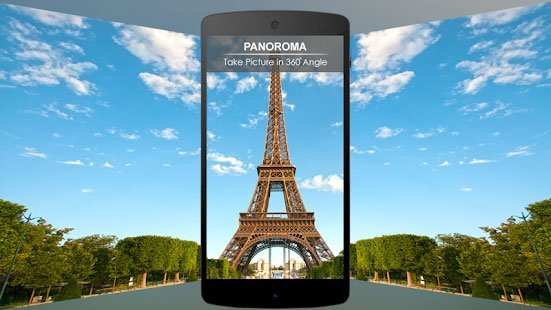 Photos panoramiques sur Android