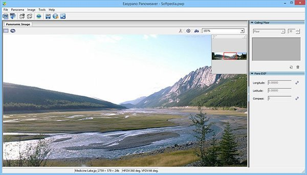 Panoweaver Screenshot