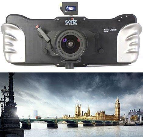パノラマカメラ-Seitz6x17カメラ