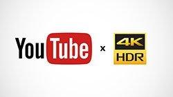 YouTubeHDRビデオ