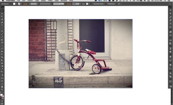 Blur Photo with Illustrator