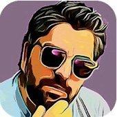 Ícone do editor de fotos dos desenhos animados para Android