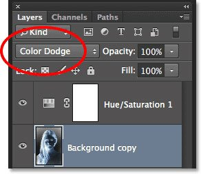 Color Dodge Blend Mode