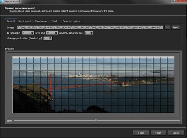 Gigapixel Panorama Software