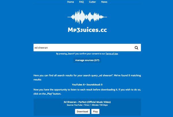 mp3 download site