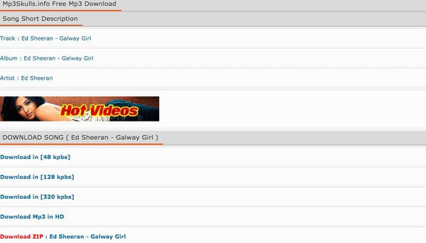 MP3Skulls Info Téléchargement MP3 gratuit
