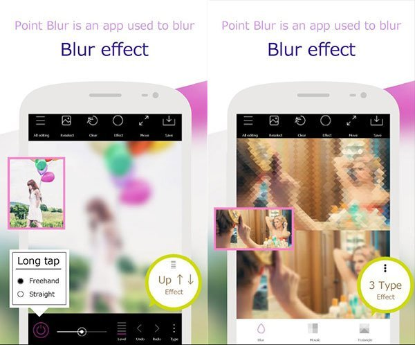 Blur Point Effect