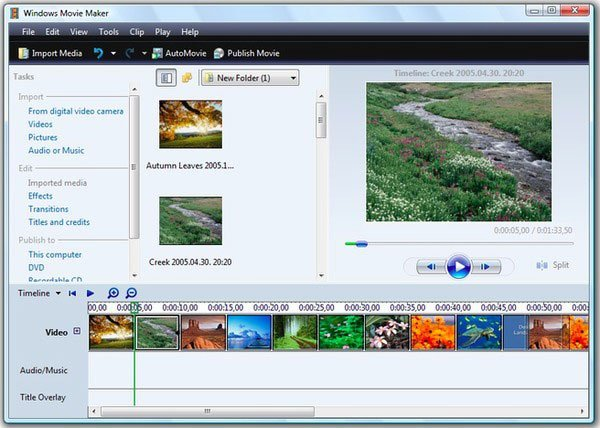 Upload MP3 to YouTube Windows Live Movie Maker