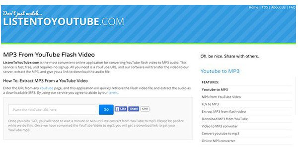 FLV2MP3 and 10 Best Alternative Sites to Convert YouTube to
