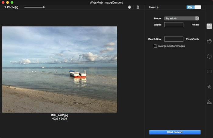 Add Photo to ImageConvert