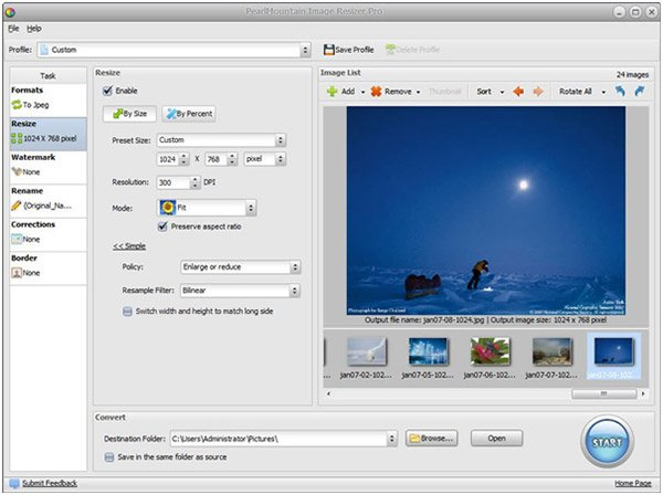 PearlMountain Image Resizer Pro