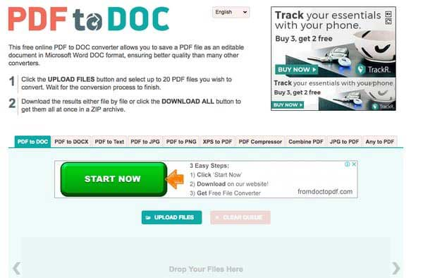 PDF到DOC