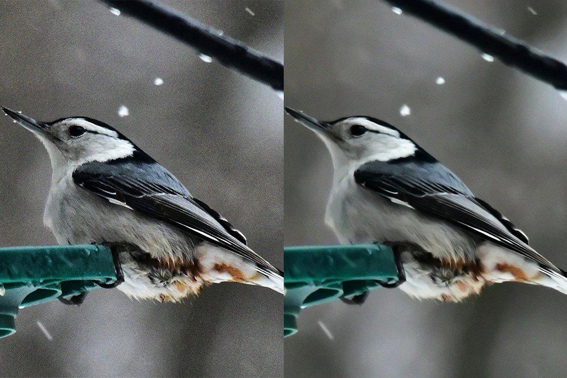 snöjämförelse