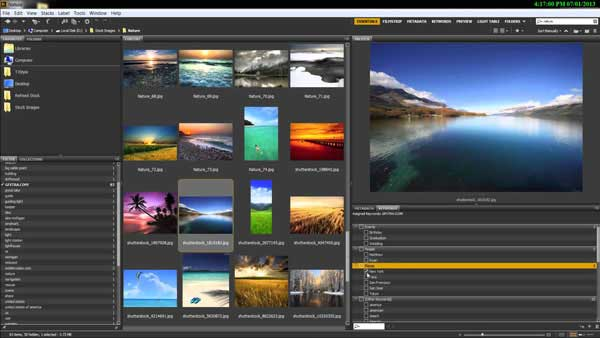 Visor de fotos para Windows - Adobe Bridge CC