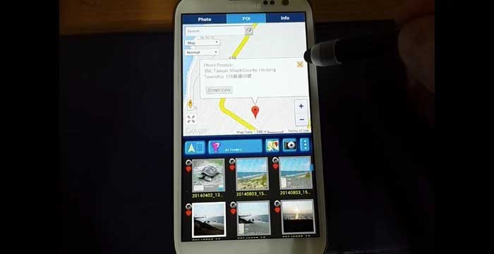 GPS Photo Viewer app