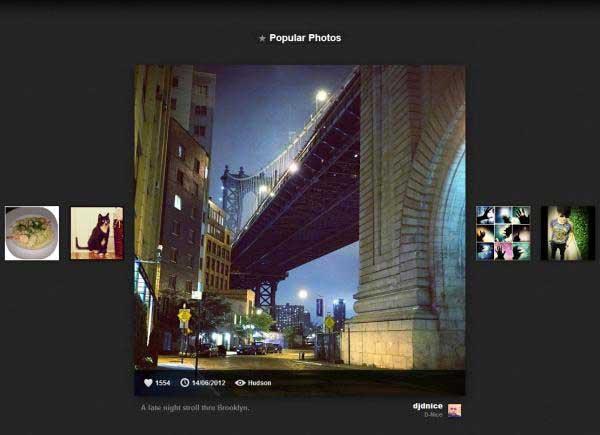Instagram Photo Viewer - Instagre