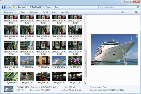 Microsoft Camera Codec Pack