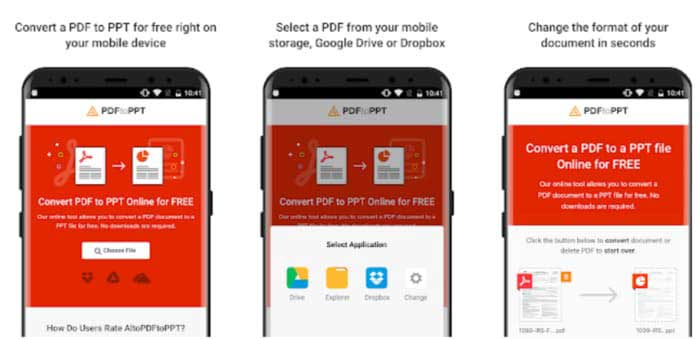 Easy Steps to Convert PDF to PPT Online/Windows/Mac/Android