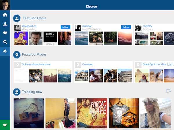 Instagram Photo Viewer - Retro