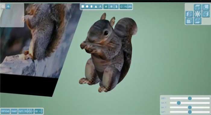 3D紋理模型