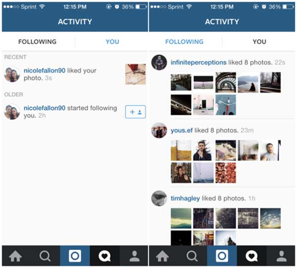 Access Private Photos of Instagram with Acitivity