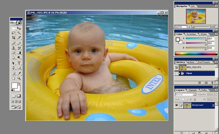 Adicionar foto no Photoshop
