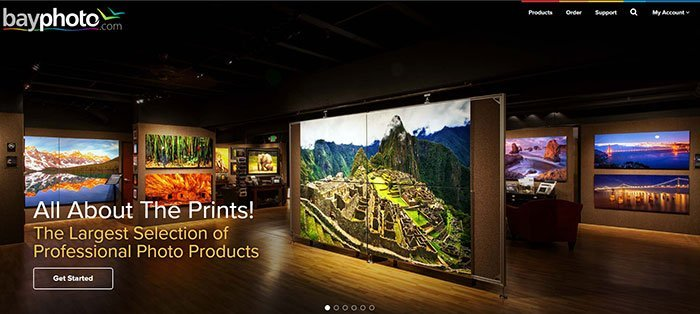 ทางเลือกของบริการการพิมพ์ภาพ Walmart - Bayphotos