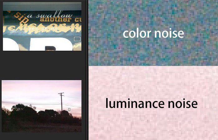 Color Luminance Noise