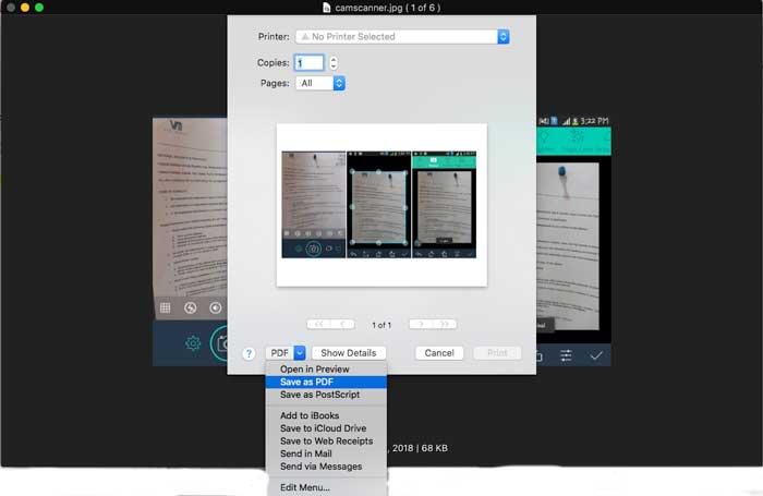 Photo to PDF
