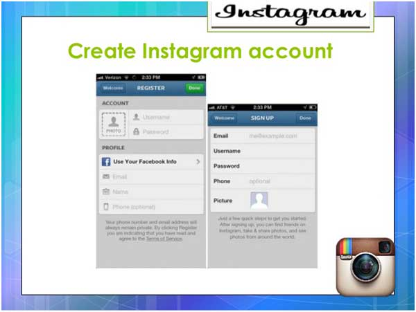 Visualizza le foto di Instagram su un account privato con falso ID